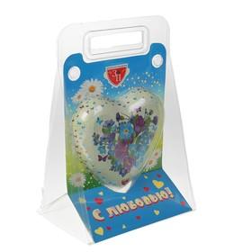 Шоколадная фигура Сердце (в подарочной сумочке) 100 г