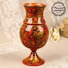 Flower vase, 26х13 cm, Khokhloma