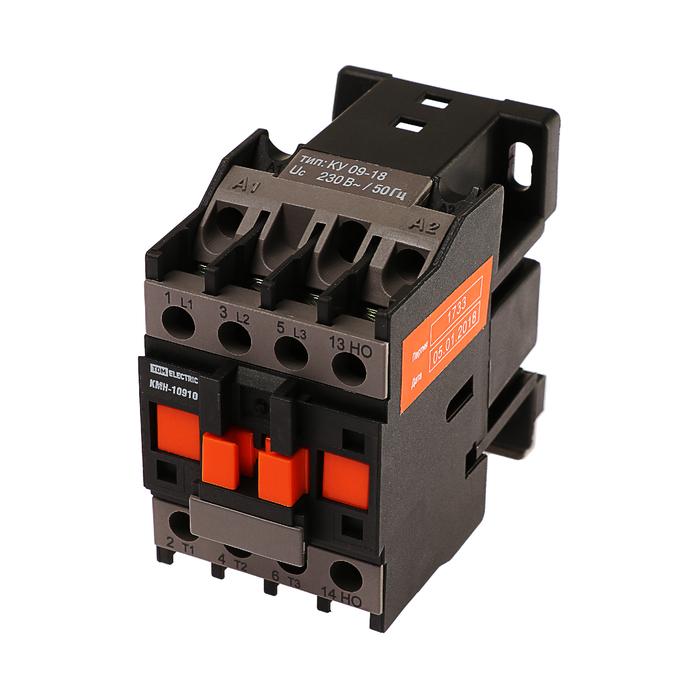 Контактор TDM КМН-10910, 9 А, 110 B375:B441 В/АС3, 1НО, SQ0708-0001