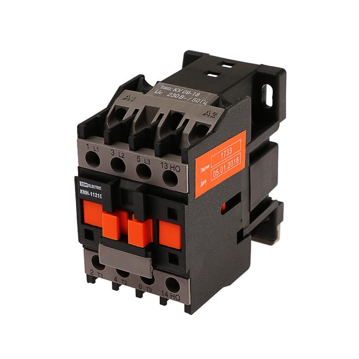 Контактор TDM КМН-11210, 12 А, 230 В/АС3, 1НО, SQ0708-0006