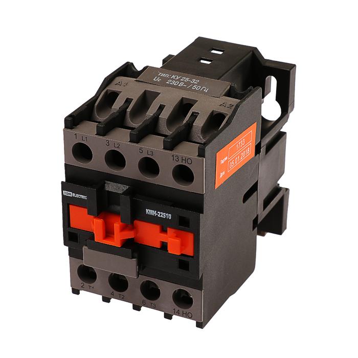 Контактор TDM КМН-22510, 25 А, 230 В/АС3, 1НО, SQ0708-0014