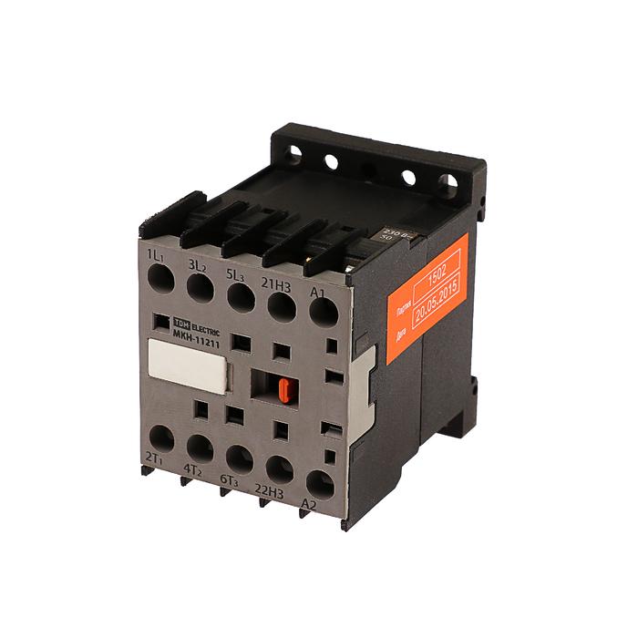 Миниконтактор TDM МКН-11211, 12 А, 230 В, 1НЗ, SQ0736-0006