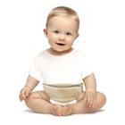 Бандаж противогрыжевой пупочный, для детей до 3 лет ГП-001, цвет бежевый, универсальный