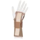 Бандаж на лучезапястный сустав без фиксации большого пальца Ttoman WS-LT, бежевый, размер S