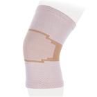 Бандаж на коленный сустав эластичный KS-E, Бежевый, размер L
