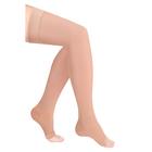Чулки компресс. с силикон. резинкой 2 кл. Normal, цвет Карамель, откр. носок, р. L