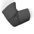 Бандаж на локтевой сустав эластичный ES-E01, Серый, размер XXL