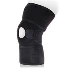Бандаж на коленный сустав универсальный разъемный KS-053, Черный, размер Универсальный