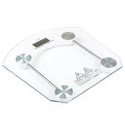 Весы напольные LuazON LVE-002, электронные, до 180 кг, белые