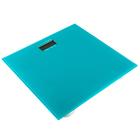 Весы напольные LuazON LVE-004, электронные, до 180 кг, цвет бирюзовый