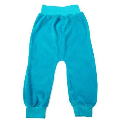 Штанишки детские, рост 80 см, цвет бирюзовый шт0007_М