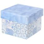 Складная коробка «Акварель», 15 х 15 х 12 см