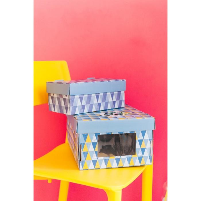 Складная коробка «Яркие краски», 26 х 14 х 10 см