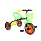 Велосипед трехколесный Micio Dynamic 2018, цвет черный/зеленый/желтый