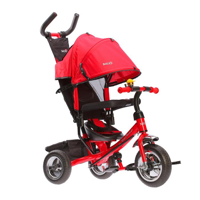 Велосипед трехколесный Micio Classic 2018, цвет красный