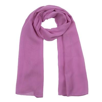 Шарф текстильный 559 S_8, цвет розовый, размер 50х160