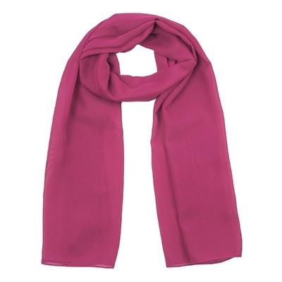 Шарф текстильный 559 S_19, цвет розовый, размер 50х160