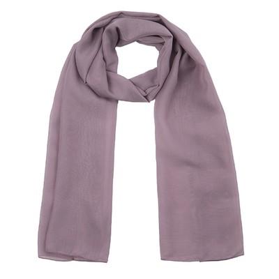 Шарф текстильный 559 S_56, цвет сиреневый, размер 50х160