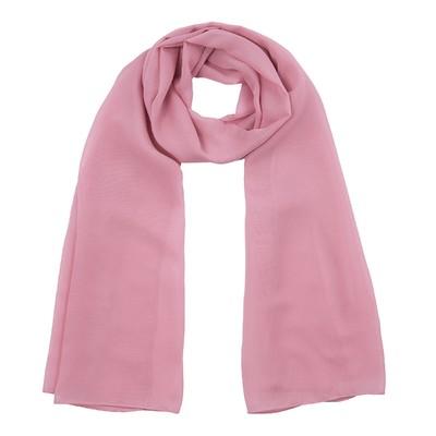 Шарф текстильный 559 S_58, цвет розовый, размер 50х160