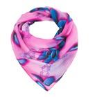 Платок текстильный, цвет розовый, размер 70х70 см