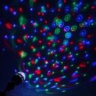 УЦЕНКА Лампа хруст. шар диаметр 8 см.эффект зеркального шара 17 х 8 х 8 V220, тип цоколя Е27