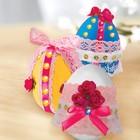 """Набор для декорирования яиц кружевом и лентами """"Светлая Пасха"""""""