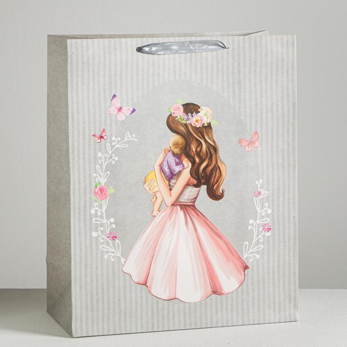 Пакет ламинированный «Нежность», XL 40 × 49 × 19 см