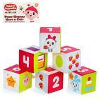 Набор мягких кубиков «Малышарики: учим формы, цвет, счёт» - фото 105533192