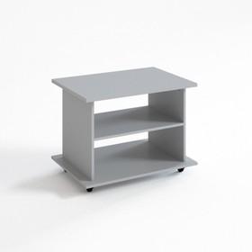 Стол журнальный СЖ-2, 800х550х590 мм, серый