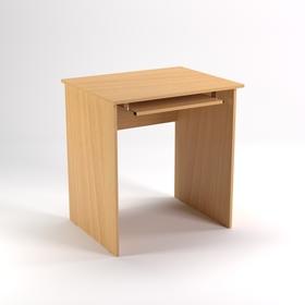 Стол компьютерный СК8.6, 800х600х750 мм, бук светлый