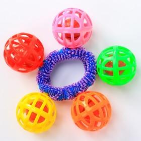 Погремушка-браслет «На ручку № 3», цвета МИКС