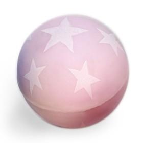 Мяч каучук 'Звёздочки' светится в темноте 4,3 см, цвета МИКС Ош