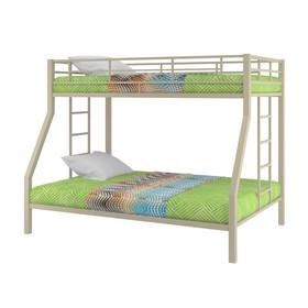 Двухъярусная кровать «Гранада», 1980 х 1260 х 1560 мм, цвет бежевый