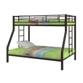 Двухъярусная кровать «Гранада», 1980 х 1260 х 1560 мм, цвет коричневый