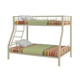 Двухъярусная кровать «Гранада 1», 1980 х 1260 х 1620 мм, цвет бежевый