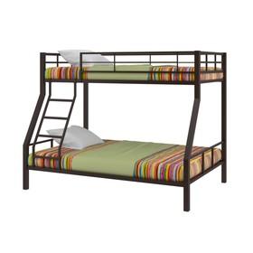 Двухъярусная кровать «Гранада 1», 1980 х 1260 х 1620 мм, цвет коричневый