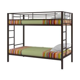 Двухъярусная кровать «Севилья», 1980 х 960 х 1960 мм, цвет коричневый