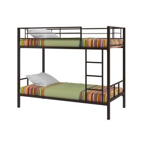 Двухъярусная кровать «Севилья 2», 1980 х 960 х 1620 мм, цвет коричневый