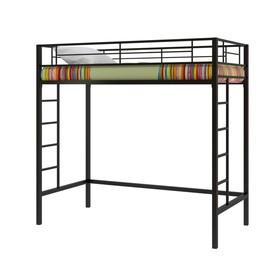 Двухъярусная кровать «Севилья 1/1», 1980 х 960 х 1960 мм, цвет чёрный