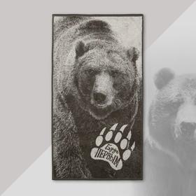 """Полотенце махровое """"Этель"""" Медведь 50х90 см, 100% хл, 420 гр/м2"""