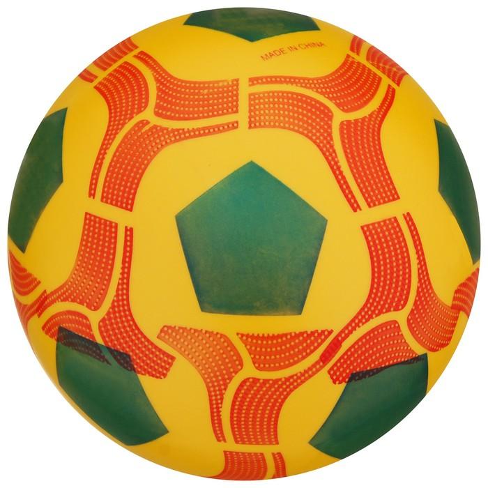 Мяч футбольный микс, диаметр - 20 см, 70 гр