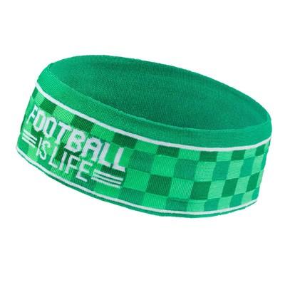 "Headband children's Collorista ""Footbal is life"" 18х7см"