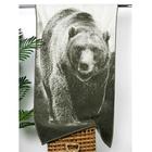 """Полотенце махровое """"Этель"""" Медведь 70х130 см, 100% хл, 420 гр/м2"""
