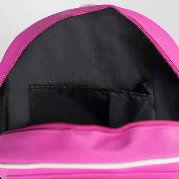Рюкзак молодёжный, отдел на молнии, 3 наружных кармана, цвет розовый - фото 545265408