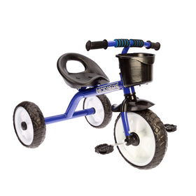 Велосипед трехколесный Micio Neon 2018, цвет синий/белый/черный