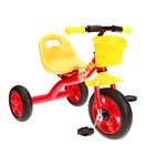 Велосипед трехколесный Micio Boom 2018, цвет красный/желтый