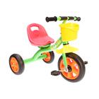 Велосипед трехколесный Micio Boom 2018, цвет зеленый/оранжевый/желтый