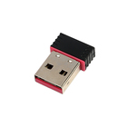 Wi-Fi адаптер LuazON, USB, черный