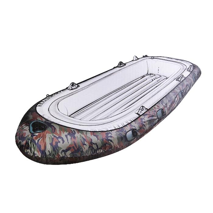 Чехол для 4-ех местной лодки FISHMAN 350 камуфляж 317 х 150