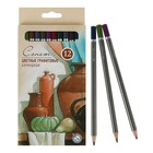 Карандаши художественные цветные графитовые ЗКХ Сонет 12 цветов 13541443